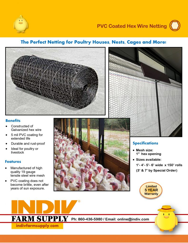 pvc coated hex wire netting