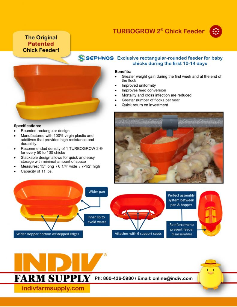 turbogrow 2 chick feeder resources